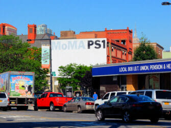 Long Island City en NYC - MoMa PS1
