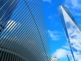 Lower Manhattan en NYC - One World Trade Center