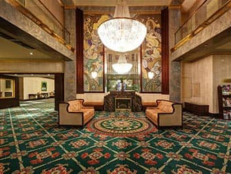 Wellington Hotel en NYC - lobby
