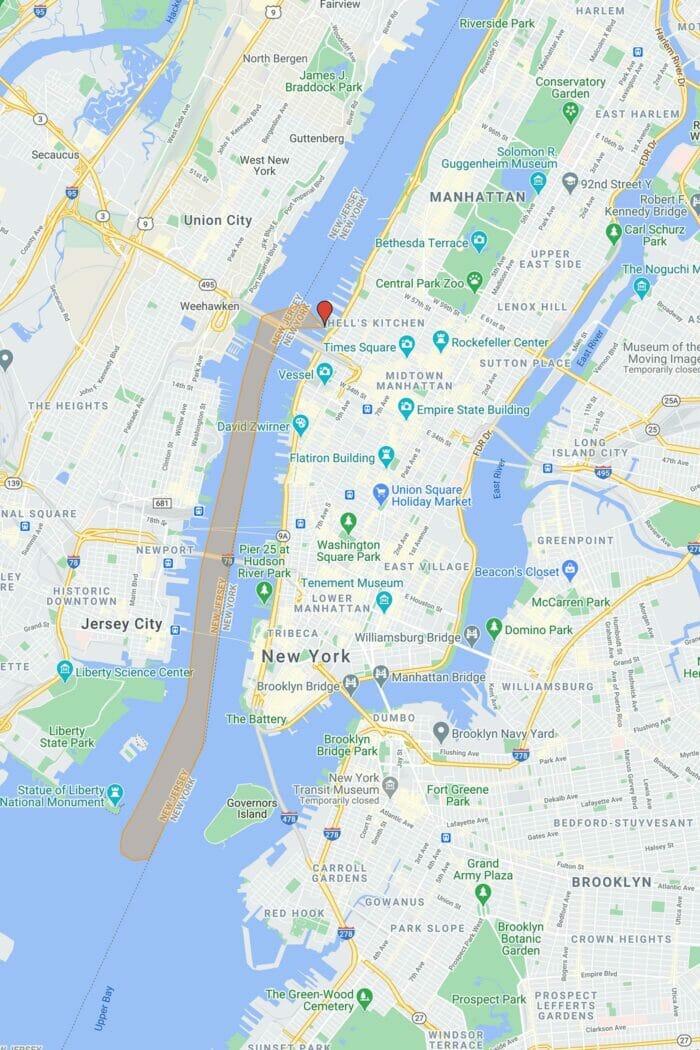 Circle Line The Beast en Nueva York - Recorrido