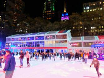Patinar sobre hielo en Nueva York - Bryant Park