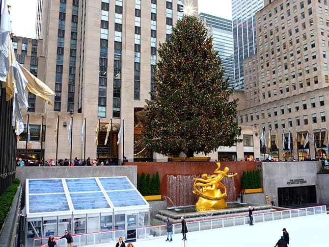 Patinar sobre hielo en Nueva York - Rockefeller Rink