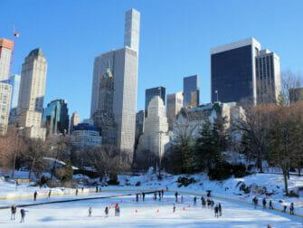 Patinar sobre hielo en Nueva York - Wollman Rink