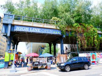 Meatpacking District en Nueva York - High Line