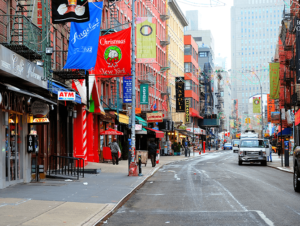 Barrio Little Italy en Nueva York