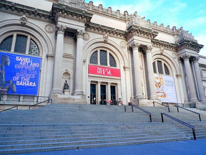 Upper East Side en NYC - Metropolitan Museum