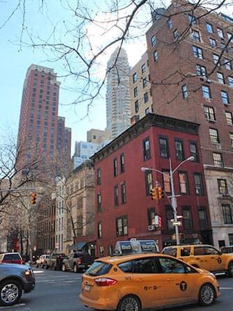 Upper East Side en NYC - Taxis en Lexington Ave