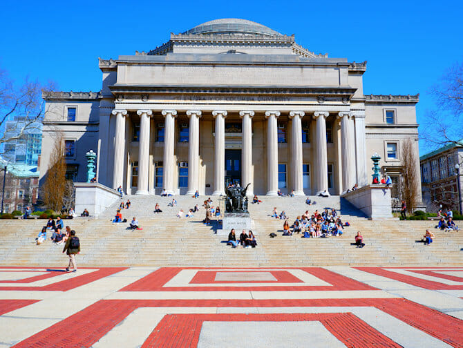 Upper West Side en NYC - Columbia University