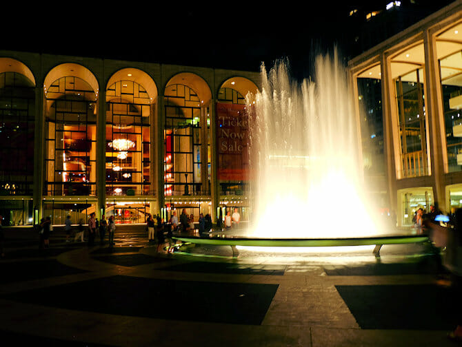 Upper West Side en NYC - Lincoln Center