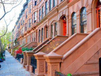 Upper West Side en NYC - tarde soleada