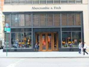 Abercrombie and Fitch en NYC