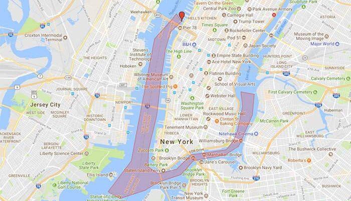Circle Line Harbor Lights Night Boat Tour en Nueva York - Recorrido