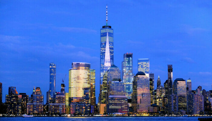Circle Line: crucero Harbor Lights en Nueva York - Skyline
