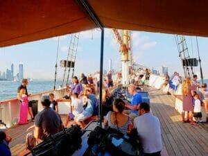 Crucero en un velero clásico Schooner en Nueva York