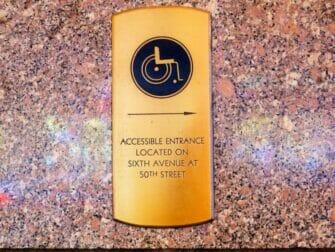 Instalaciones para discapacitados en Nueva York