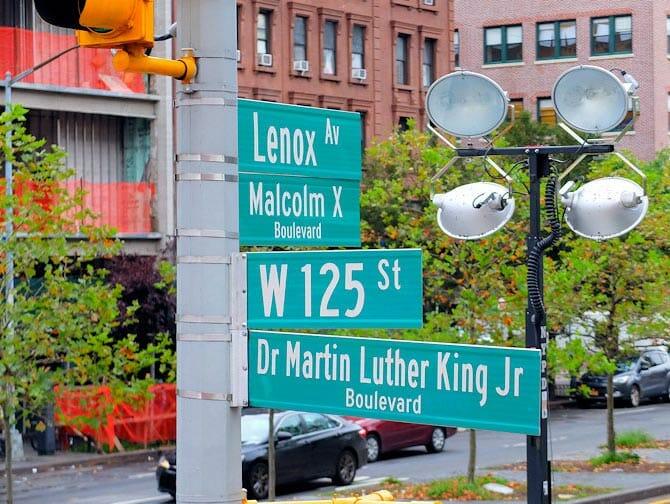 Harlem en Nueva York - Calles