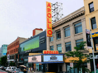 Harlem en Nueva York - Apollo Theater
