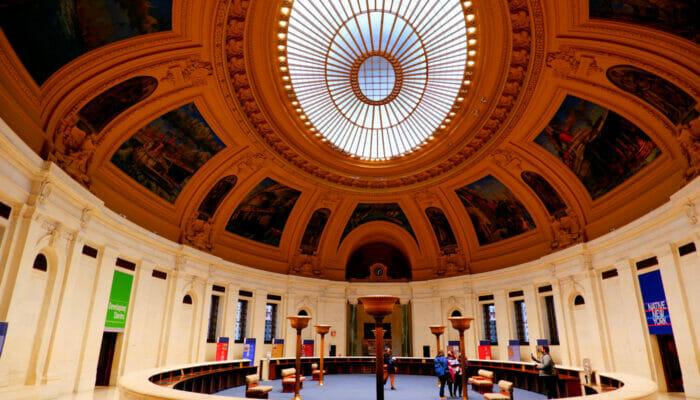 National Museum of American Indian en Nueva York - Interior