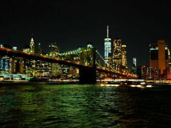 Crucero con cena bufé en Nueva York - Puente Skyline Manhattan