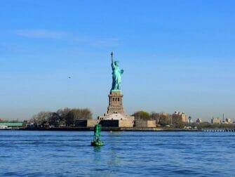 El ferry de Staten Island - La Estatua de la Libertad