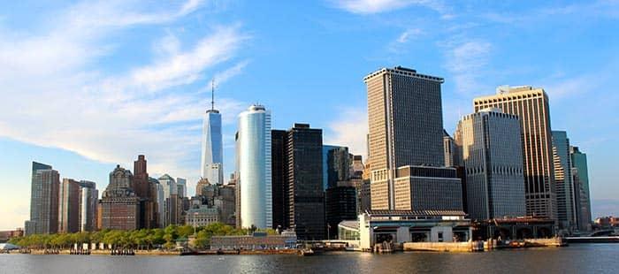 Staten Island en Nueva York - skyline