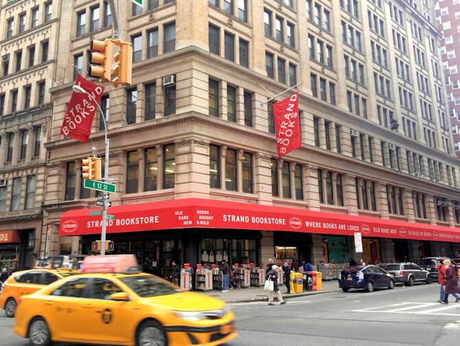 The Strand Bookstore en Nueva York