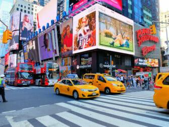 Taxi en Nueva York - hora punta