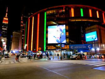 Madison Square Garden en Nueva York - Exterior