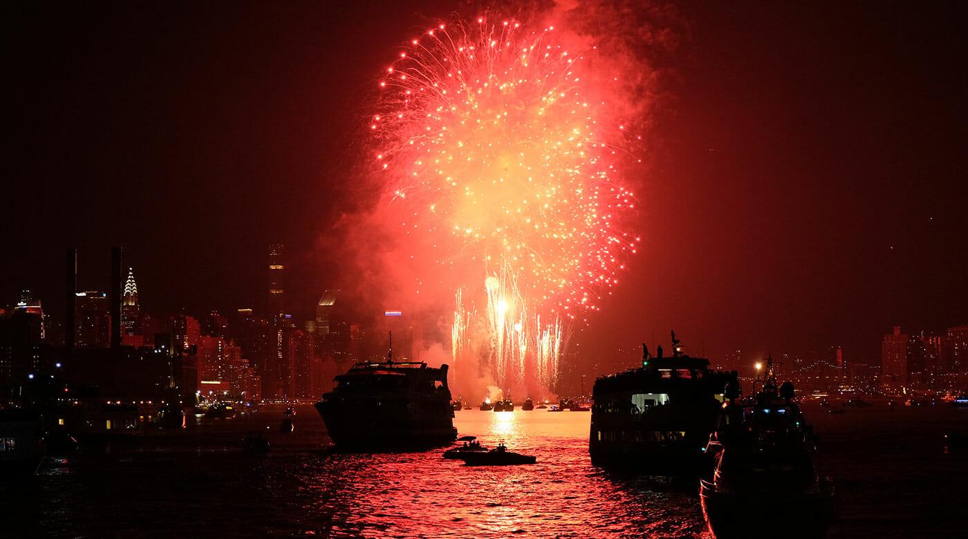 Cruceros de Fin de Año en Nueva York - Fuegos artificiales