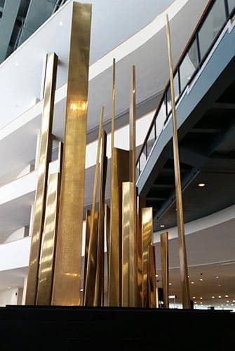 Naciones Unidas en Nueva York - Escultura