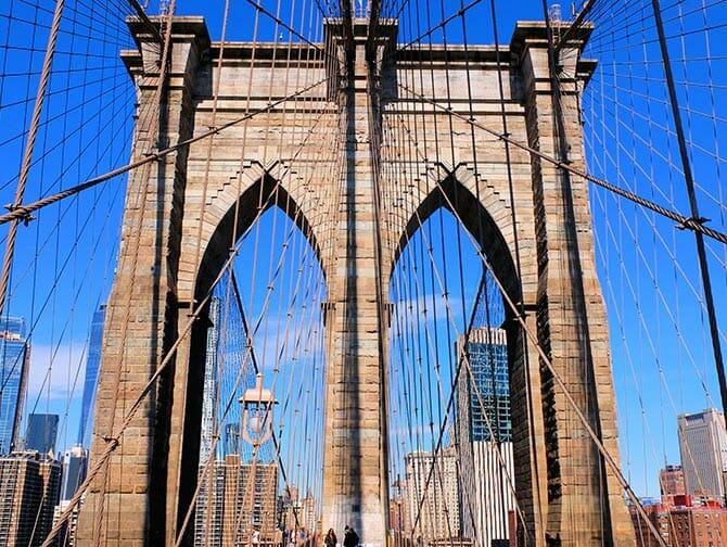 Brooklyn Bridge en Nueva York