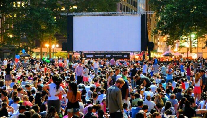 Cine gratis en Bryant Park - Peliculas al aire libre
