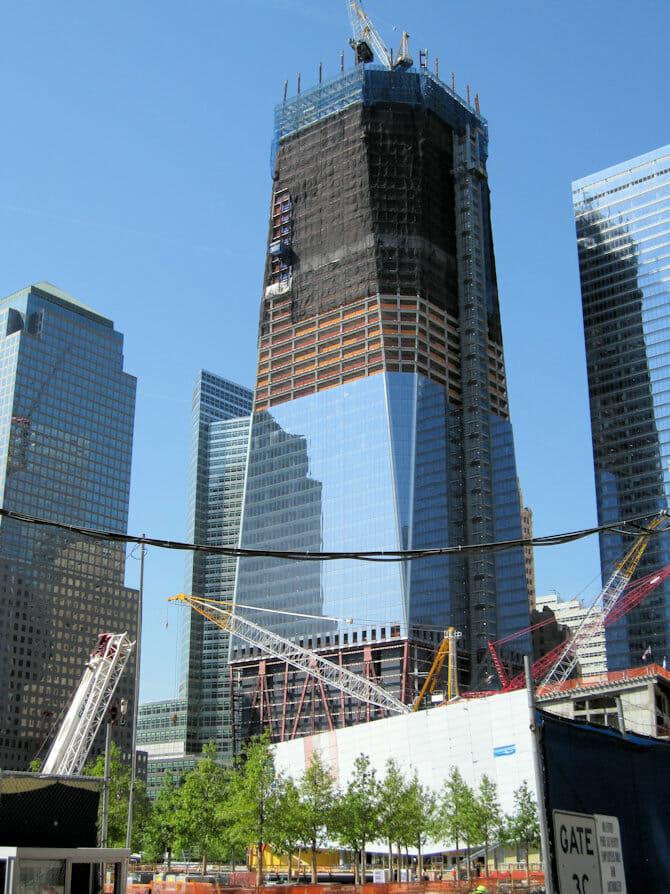 Freedom Tower / One World Trade Center Nueva York - en construcción
