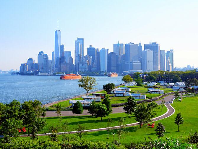 Governors Island en Nueva York - 1WTC