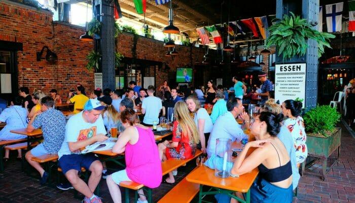 Clubs en Meatpacking District - Biergarten