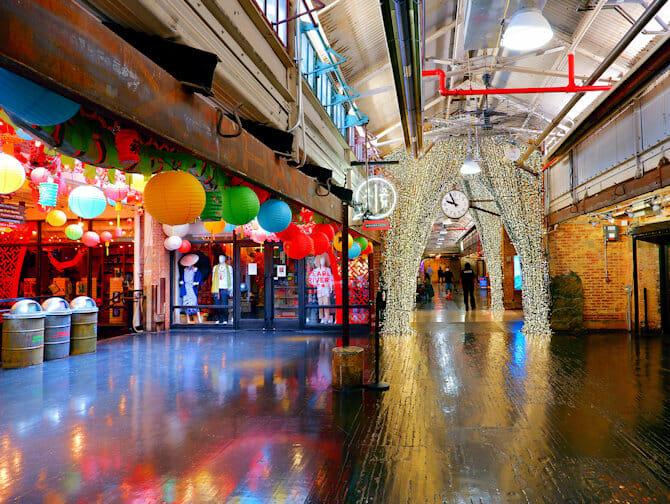 Mercados en Nueva York - Chelsea Market