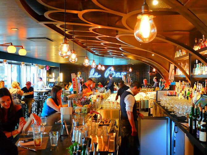 Mercados en Nueva York - Le Bar en Le District