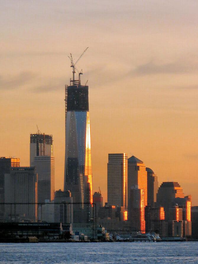 Freedom Tower / One World Trade Center Nueva York - construcción