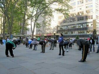 Tai Chi en NYC - clases gratuitas