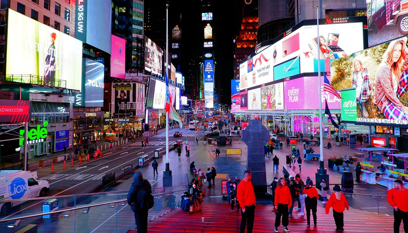 Theater District en Nueva York - Times Square