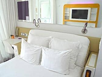 Yotel Hotel en Nueva York - cama
