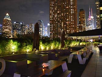 Yotel Hotel en NYC - azotea
