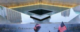 Monumento conmemorativo a las víctimas del 11-S en Nueva York
