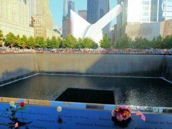 Monumento conmemorativo a las victimas del 11-S en Nueva York - Rosas
