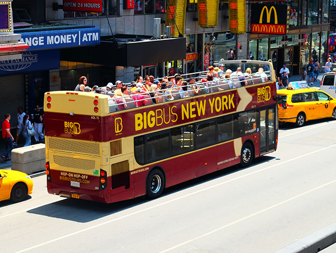 Big Bus en Nueva York - Bus