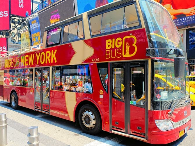 Big Bus en Nueva York