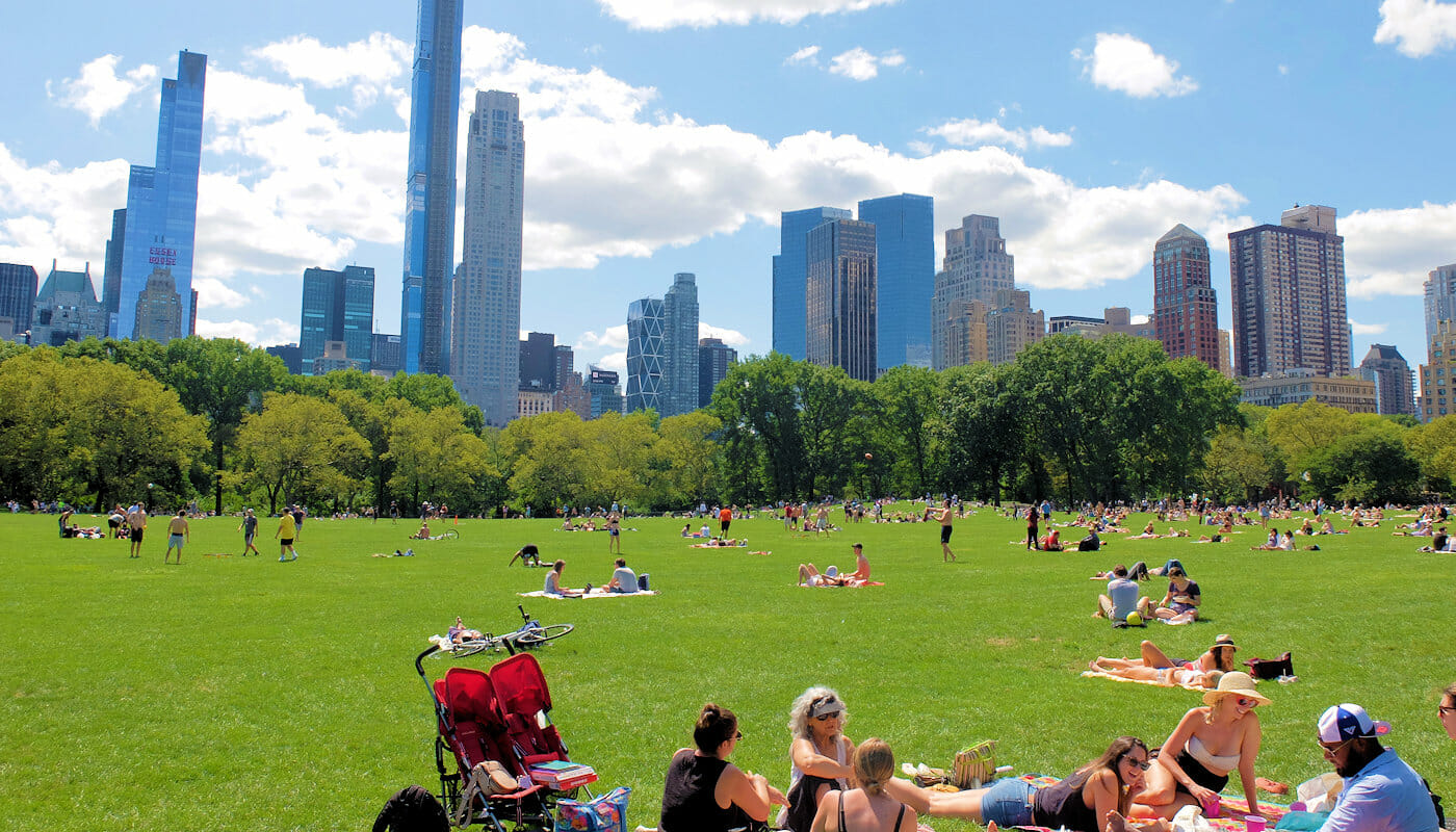 Central Park - Sheep Meadow