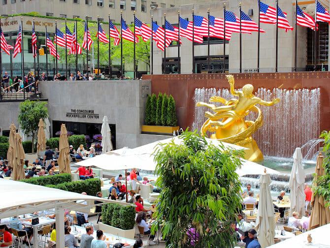 Rockefeller Center en Nueva York - Terraza