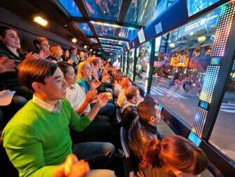 The Ride en Nueva York - pasajeros