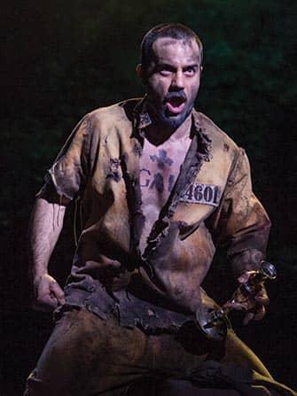 Les Miserables en Broadway - Jean Valjean